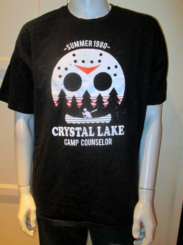 8bfc1817 Friday The 13th Crystal Lake Camp Counselor T-shirt for sale online ...