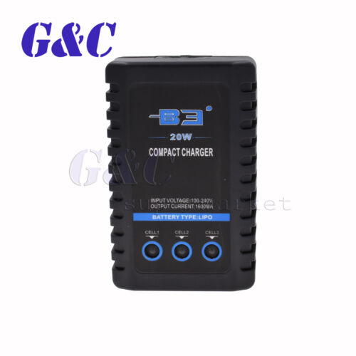 B3 20W 2S 3S 7.4V 11.1V Lipo Battery Balancer Charger E350 25W