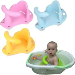 Baby Infant Child Toddler Bath Seat Ring Non Anti Slip Safety ...