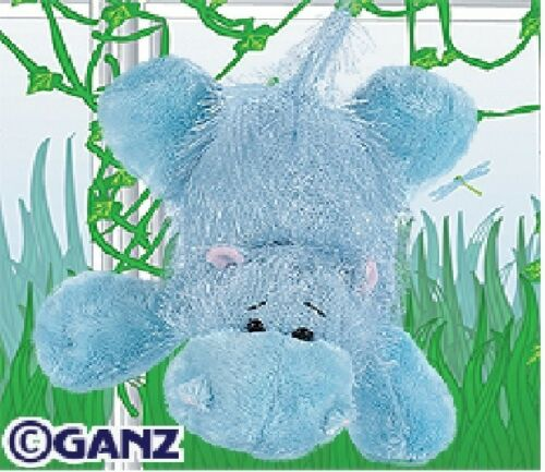 Webkinz Blue Hippo