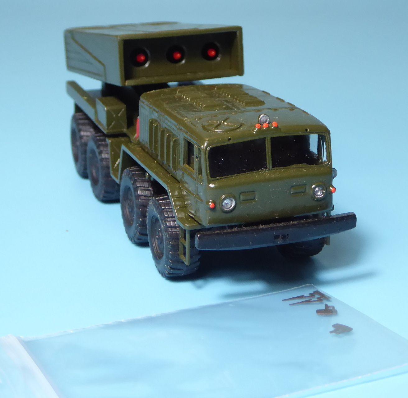 Rk Rk Rk modèles camion KRAZ lance-roquettes de la NVA  armée russe su/urss/rda, h0 | Stocker  44d3b7