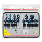 Bosch 13 PCE 10mm - 32mm Wood Self Cut Flat Spade Speed Drill Bit Set 2608587010