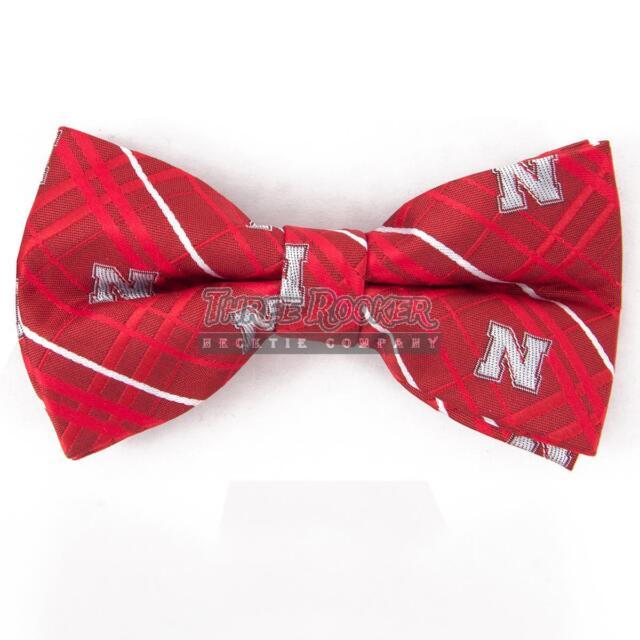 Nebraska Bow Tie Pre-tied Nebraska Cornhuskers Bow Ties FREE SHIPPING NWT