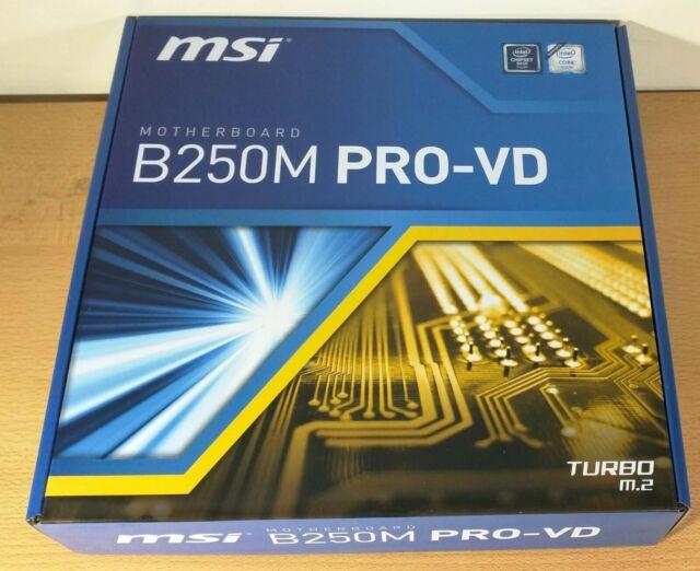 MSI H110M PRO-VD PLUS Desktop Motherboard Socket H4 LGA-1151 Intel Chipset