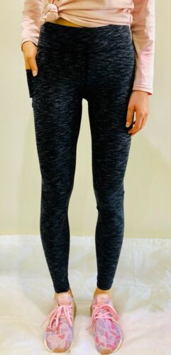 SYNDICATE Womens Fitness Yoga Gym Compression Tight Sports Grey Tights