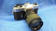 Yashica TL-E Film Camera with 135 mm Suntar F2.8 Lens