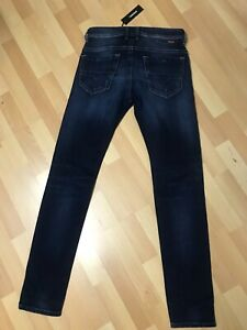 NWD-da-Uomo-DIESEL-thommer-Stretch-Denim-0860L-DARK-BLUE-SLIM-W30-L32-H6-RRP-170