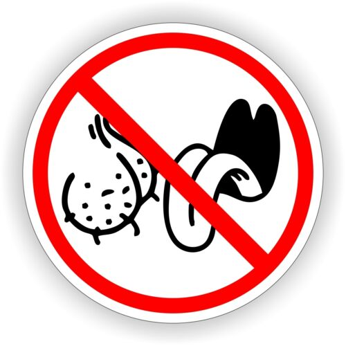 NO BAG LICKERS Funny Hard Hat Sticker \ Motorcycle Welding Helmet Decal \ Label