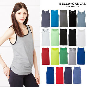 076db1d1bbe96 Image is loading Bella-Canvas-Unisex-Jersey-Tank-Top-3480