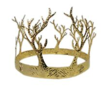 Medieval Gold Crown of Antlers Adult King Queen Costume Accessory Tree Branches