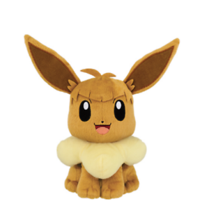 Banpresto Pokemon Sun /& Moon Big stuffed Soft plush Nagisa Lana Eevee japan