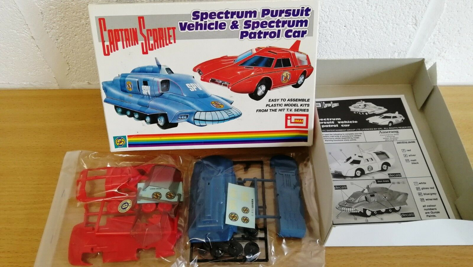 Captain Scarlet Spectrum Pursuit Vehicle & Patrol Car by IMAI Brand New In Box
