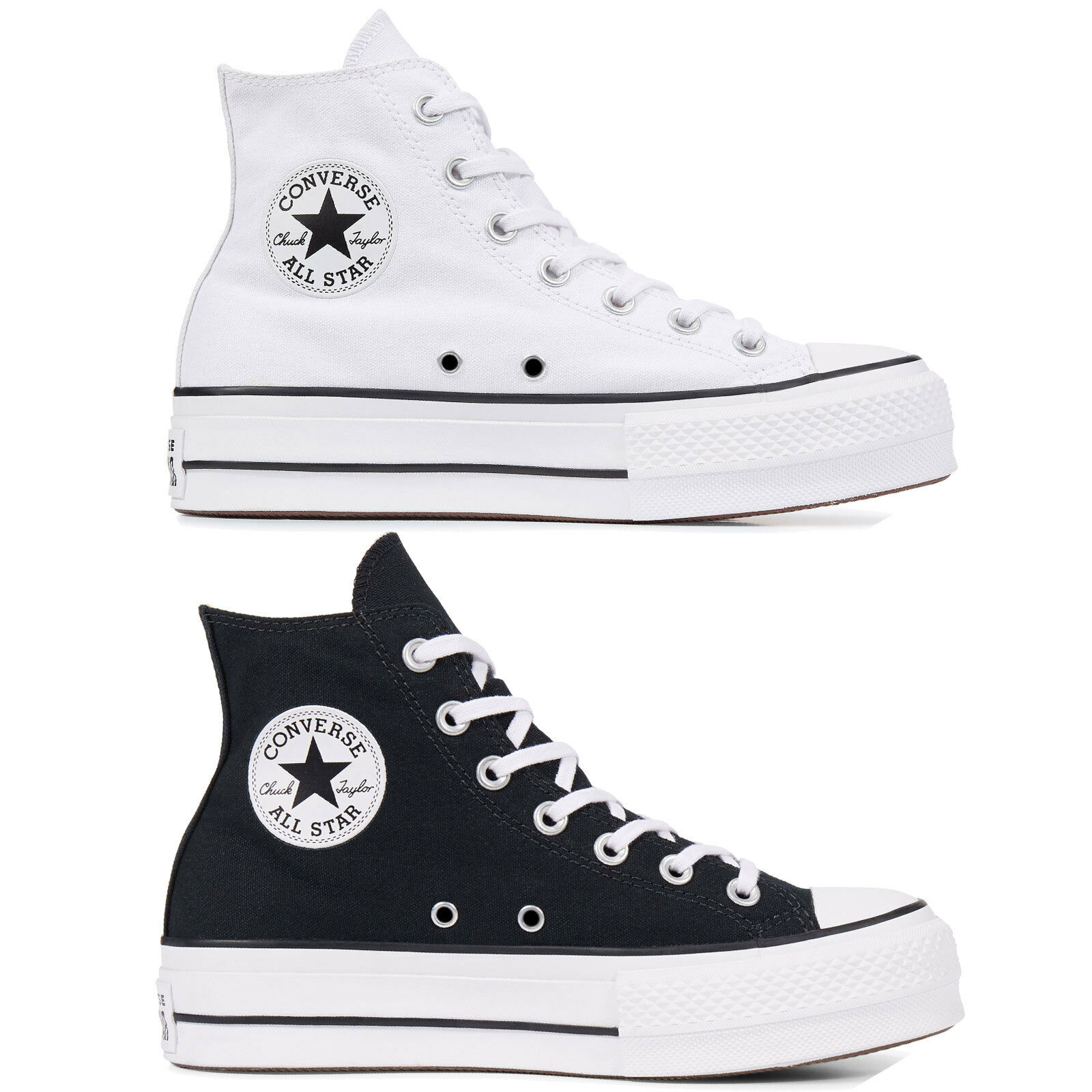 Converse chuck taylor all star hi lift textile womens shoes sport