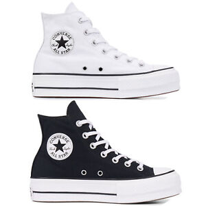 Details about Converse Chuck Taylor all Star Lift Hi Women's Sneakers Textile Platform