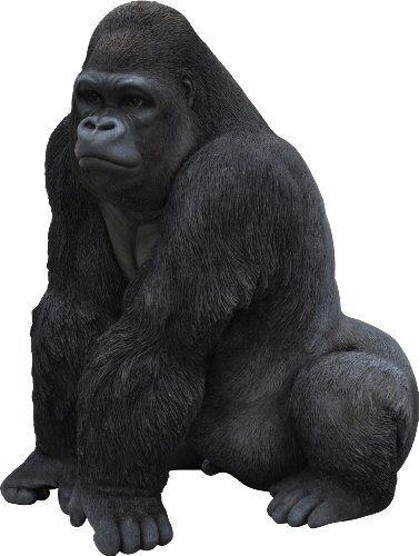 Vivid Arts Gorila Resina Ornamento