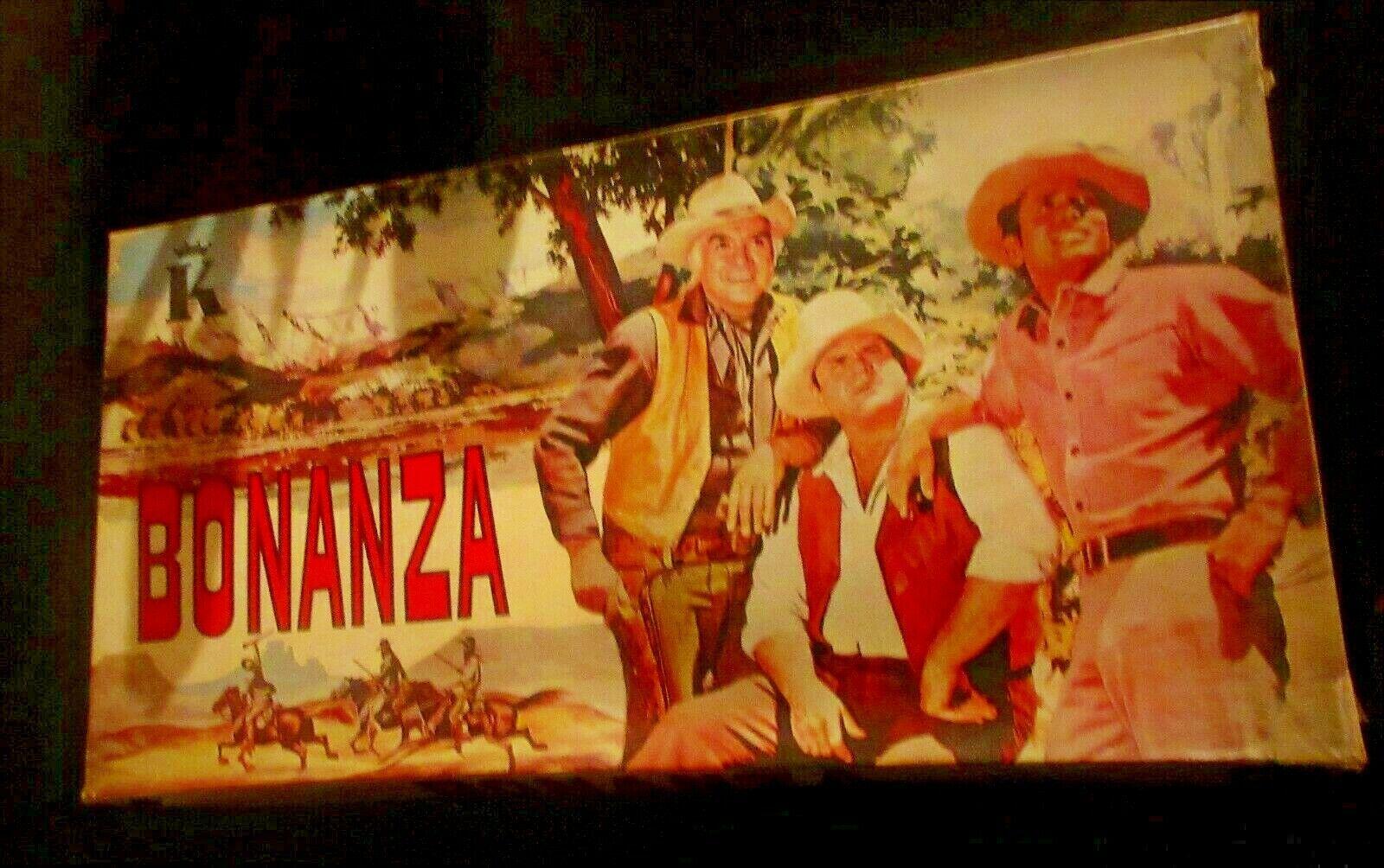 conveniente Vintage único griego Juego De Mesa-Bonanza-Western TV Series katsaropoulos 70s 70s 70s  envío gratuito a nivel mundial