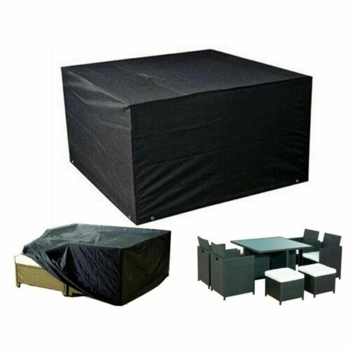 Waterproof Garden Patio Furniture Cover For Rattan Table Sofa Bench Cube Outdoor