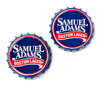 Samuel Adams (r) Bottle Cap Cufflinks - Wedding Gift - Handmade - Gift Box