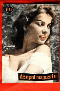 ABBE-LANE-ON-COVER-1958-VERY-RARE-EXYU-MAGAZINE