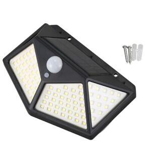 100-LED-Lampada-Da-Parete-a-Energia-Solare-Controllo-Intelligente-Del-Rilev-V7U5