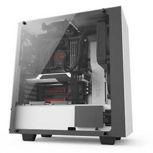 Image is loading Nzxt-CA-S340W-W2-S340-Elite-No-Power-