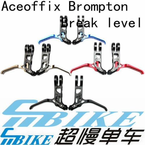 ACE CNC Ultralight Bicycle Brake Levers for Brompton Bicycle Folding Road Bike