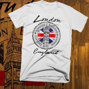 S to 3XL London England Big Ben T-Shirt Great Britain United Kingdom Vacation
