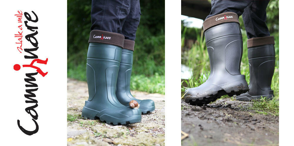 Camminare in Thermal Lightweight EVA in Camminare Gomma Wellingtons Stivali -35 C syberian verde 4d30fa