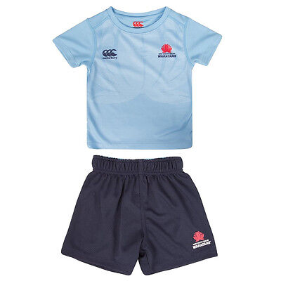 KIDS Sizes 2-4  **SALE PRICE** NSW Waratahs Jersey /& Shorts Set TODDLER