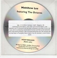(GE95) Matthew Lee, Heartbreaker - 2013 DJ CD