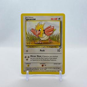 92//130 Base Set 2 Vintage WotC Pokemon Card Spearow NM//MINT