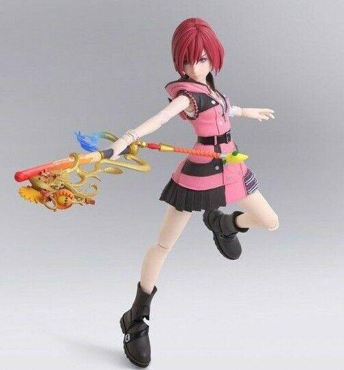 "Action Figure Authentic PlayArts Kai Kingdom Hearts III Guardian Aqua No Box 8/"""
