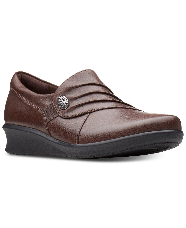 alta quaità Clarks HOPE ROXANNE donna Marrone 37201 37201 37201 Slip On Comfort scarpe  acquistare ora