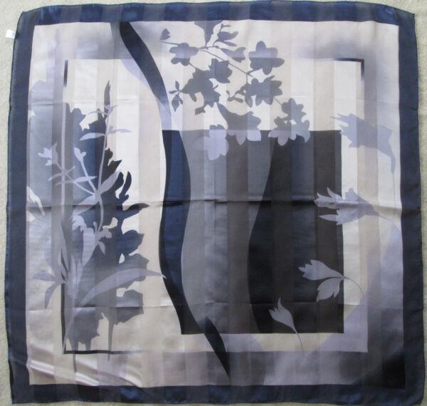 -foulard Soie Tbeg Vintage Scarf 85 X 88 Cm Senza Ritorno