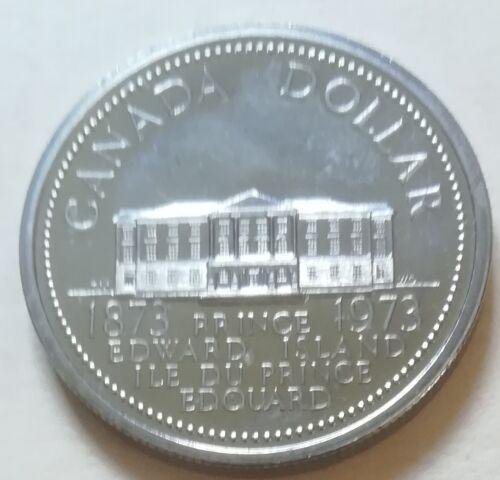 UNC. 1973 Canada SPECIMEN//PL One Dollar Coin RJ610 BRI