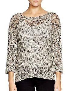 ee384e3ca8064  218 Eileen Fisher Bateau Neck Box Top Sweater Cotton Slub NWT SZ ...