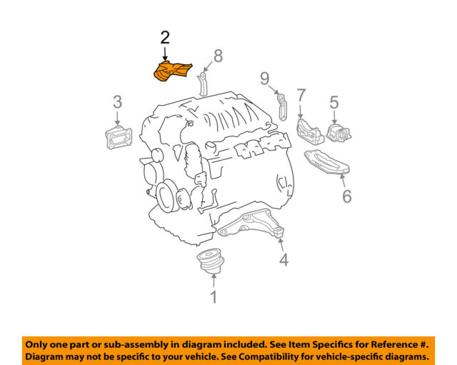 engine motor transmission-front mount shield right 2032410534