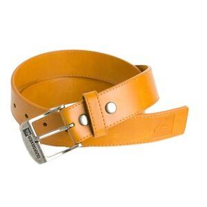 Men-039-s-Quiksilver-10th-Street-Belt-Rustic-Orange-Size-Large-L-36