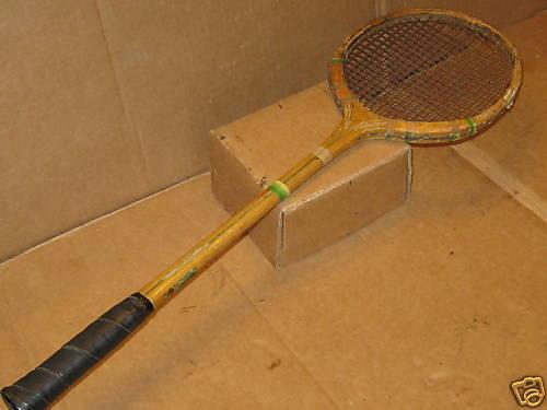 Vintage Racquet  Vintage Cannon Ball Racquet
