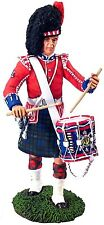 William Britain Britains 10008 Black Watch Pipes & Drum Figure