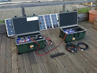 ULTIMATE Tactical Solar Power Generator Kit!!!