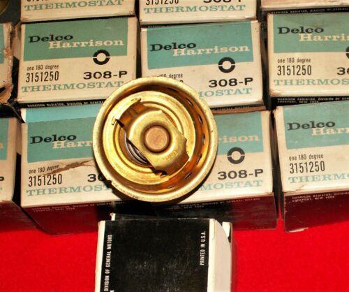 NOS 59 60 61 62 CHEVROLET GMC TRUCK DELCO HARRISON THERMOSTAT 3151250 308-P 292