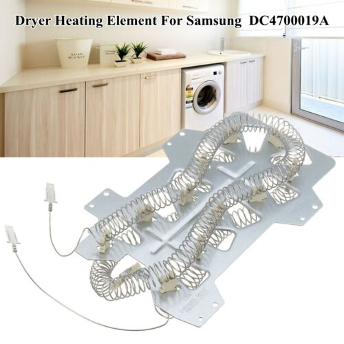 DC4700019A Dryer Heater Heating Element Metal Fit Samsung DC47-00019A Repair!