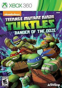 Teenage Mutant Ninja Turtles: Danger of the Ooze Xbox 360 Kids Game Collectible