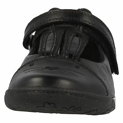Girls Clarks Leather School Shoes - Nibbles Jig
