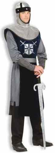 Knight of Round Table Medieval Royal Guard Fancy Dress Halloween Adult Costume
