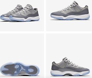 6dc58ec00c23 Nike Air Jordan XI Retro 11 Low Cool Grey 528895-003 Authentic