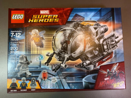 Lego Marvel Super Heroes 76109 ANT Man /& the Wasp Quantum Realm Explorers Set