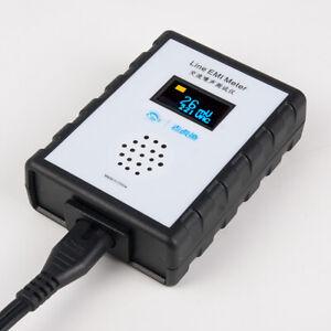Medidor-de-ruido-de-CA-Digital-Mini-OLED-EMI-Tester-Analizador-de-banda-ancha-ripple-Ac-Power