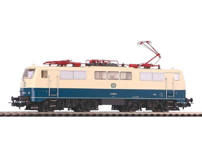 Piko 51847 e-Lok br 111 de la DB, océano azul-beige, AC-version, EP. IV, h0